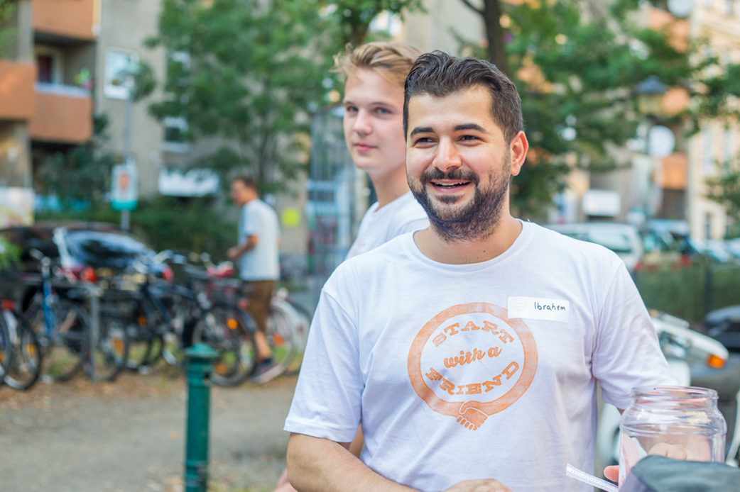 Start with a Friend   BERLIN MIT KIND