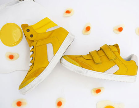 Schönes für Frühling und Ostern: Sneaker von Telyoh