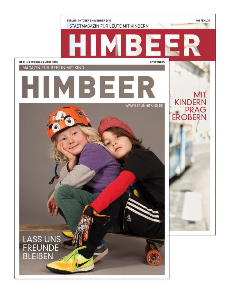 Mediadaten | Werben im HIMBEER Magazin für Berlin mit Kind