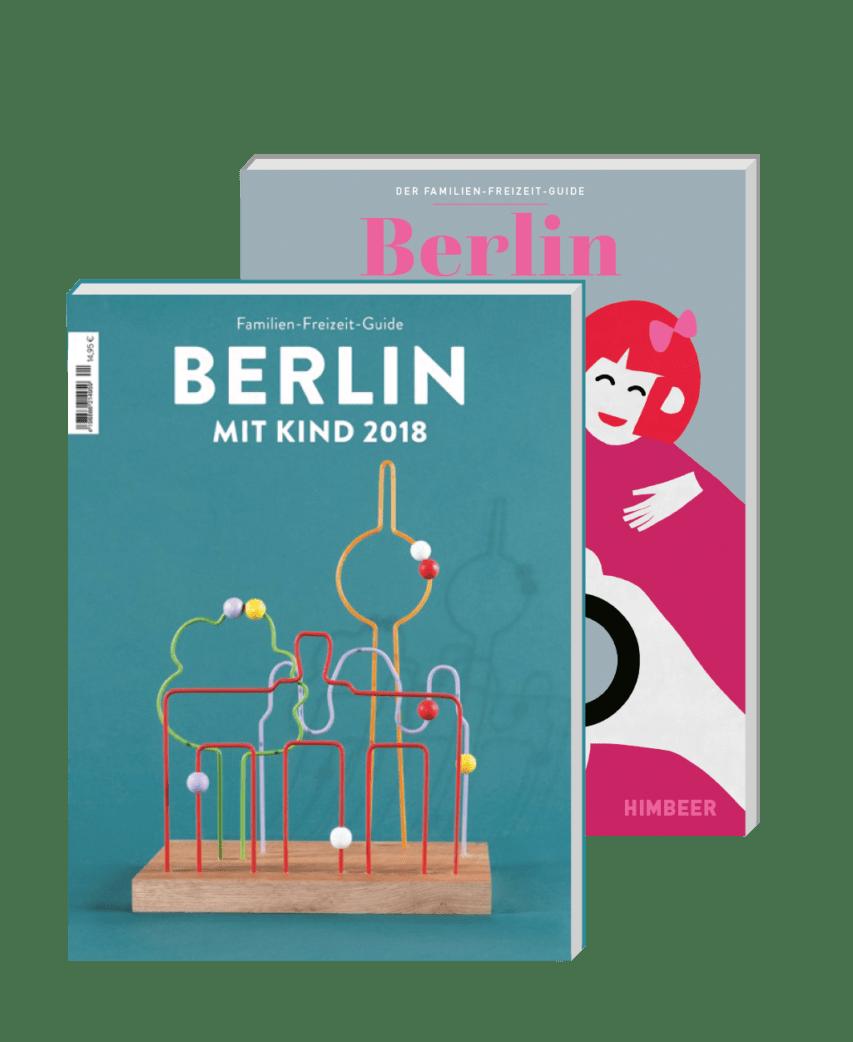 Mediadaten Familien-Freizeit-Guide BERLIN MIT KIND aus dem HIMBEER Verlag