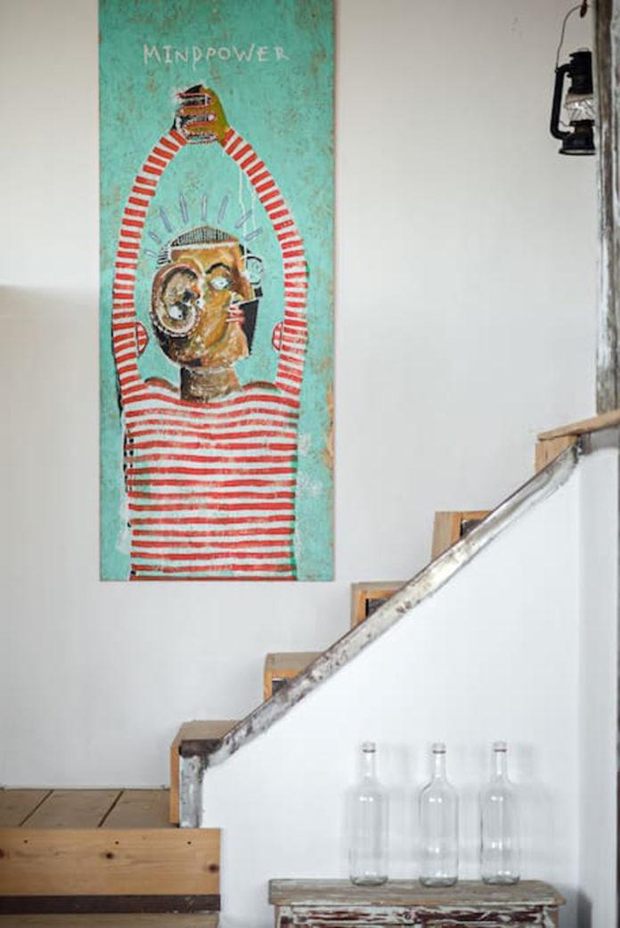 Bild mit Treppe