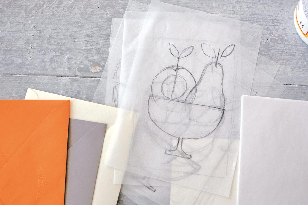 Osterkarten Grußkarten selbst basteln mit Kindern // HIMBEER
