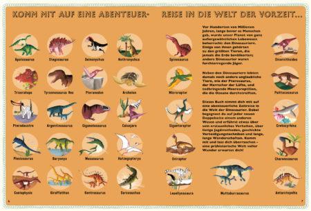 Kinderbuch-Tipp: Atlas der Dinosaurier von Lucy Letherland | Berlin mit Kind