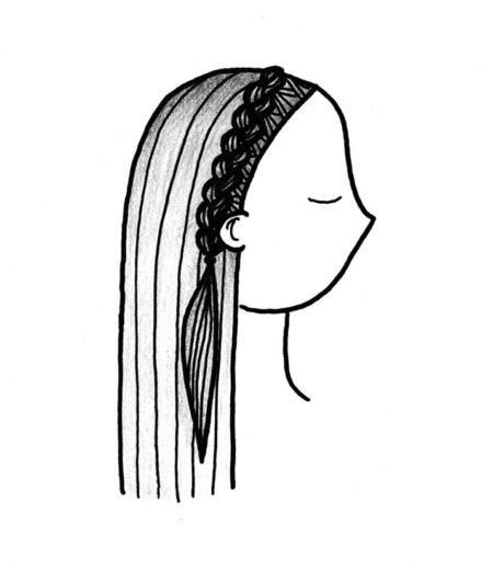 holländischer Haarkranz