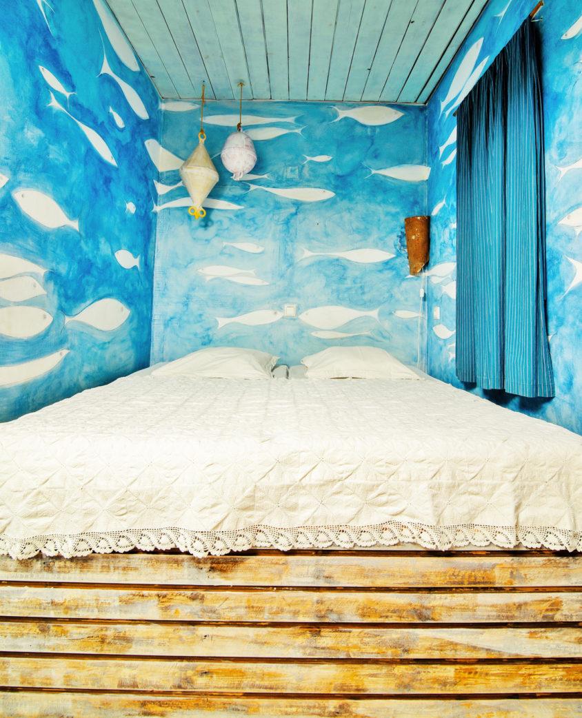 Schlafzimer in der Ferienwohnung