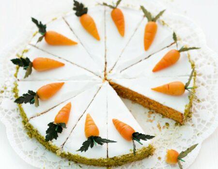 Rüblitorte – Rezept zu Ostern, Backen mit Kindern // HIMBEER
