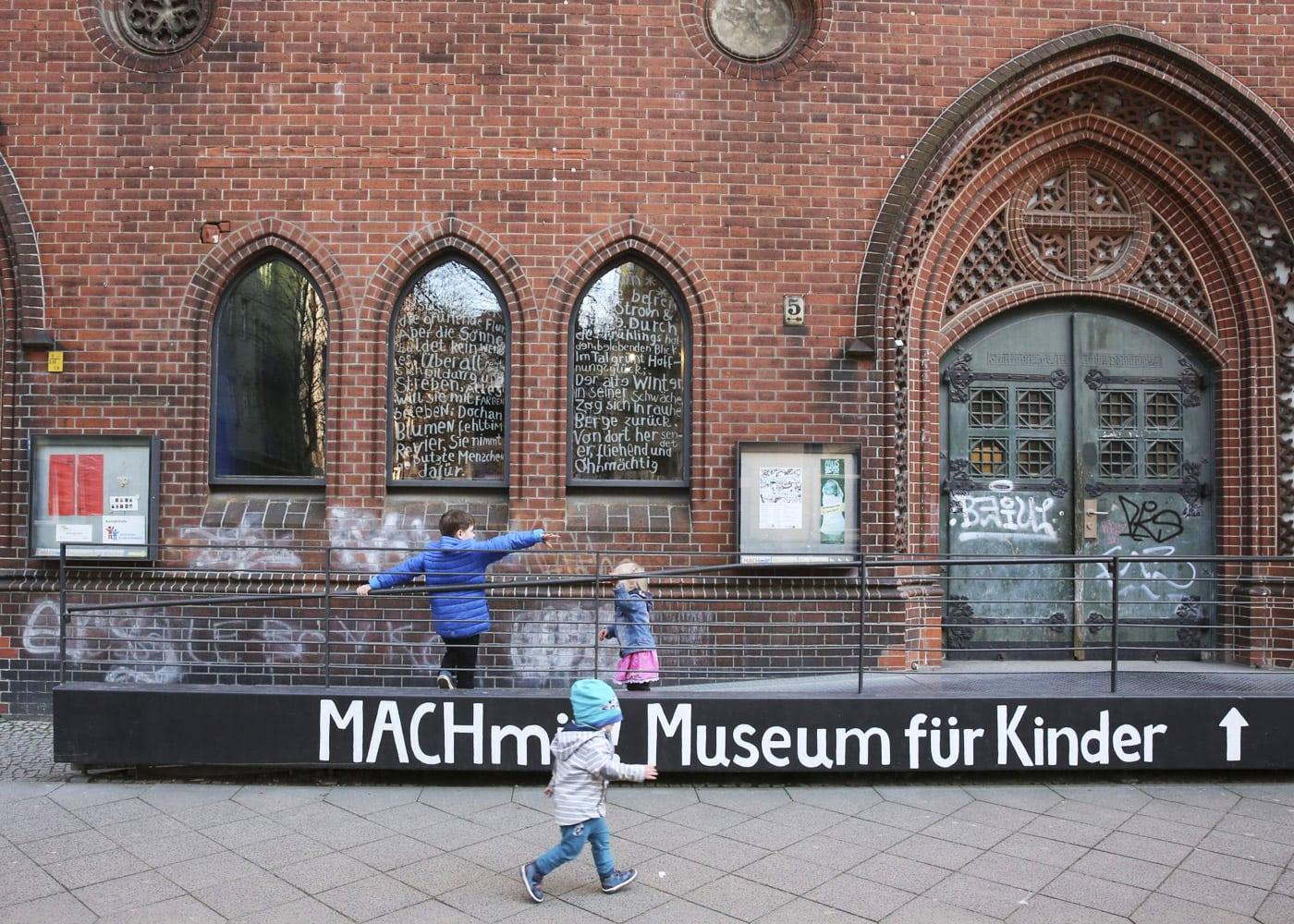 MACHmit! Museum für Kinder in Berlin-Prenzlauer Berg // HIMBEER