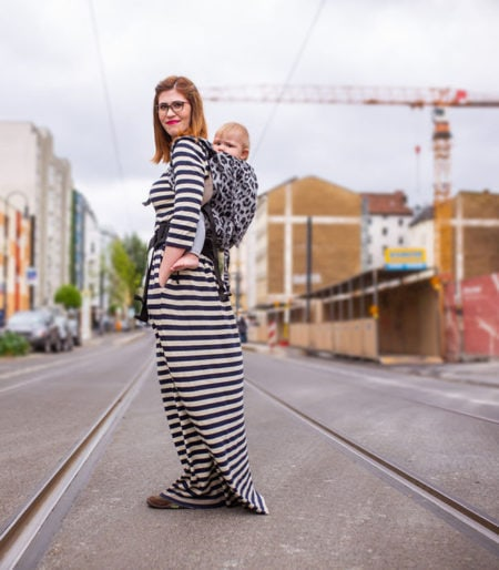Mit Baby unterwegs in Berlin: Die besten Läden für Trageberatung: MAdame Jordan // HIMBEER