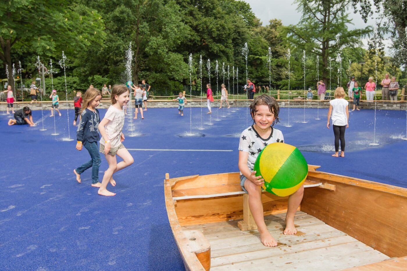 Kinderspielplatz im Tierpark Berlin | Berlin mit Kind