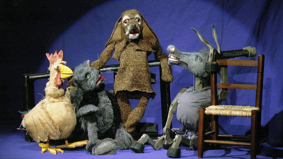 Die Bremer Stadtmusikanten als Marionetten | Berlin mit Kind