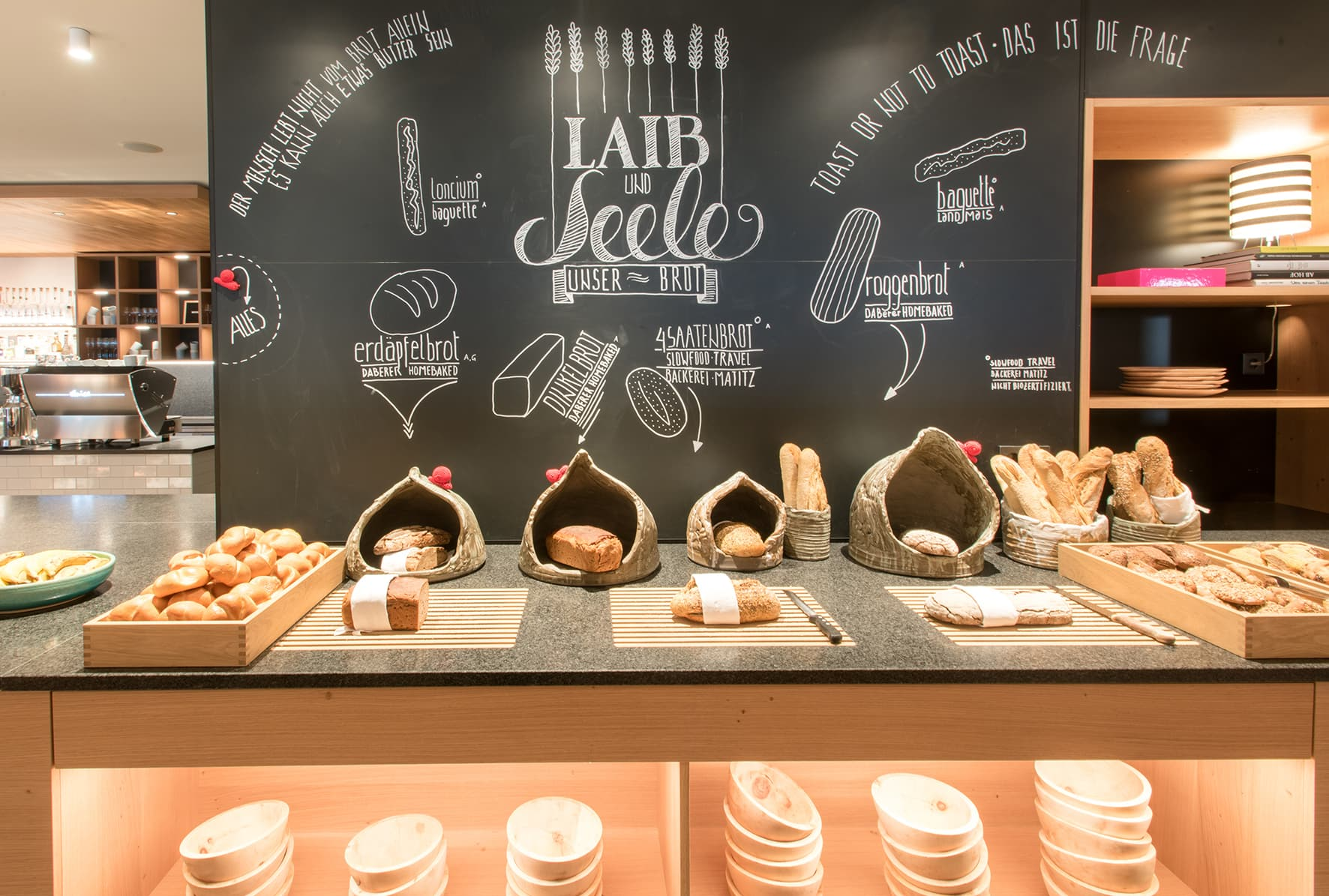 Laib und Seele Frühstück