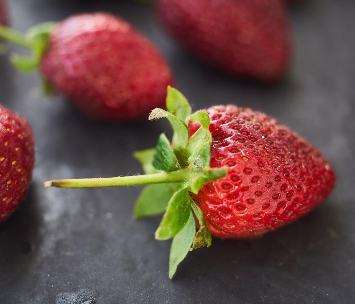 Zutaten für Erdbeerkuchen: Erdbeeren // HIMBEER