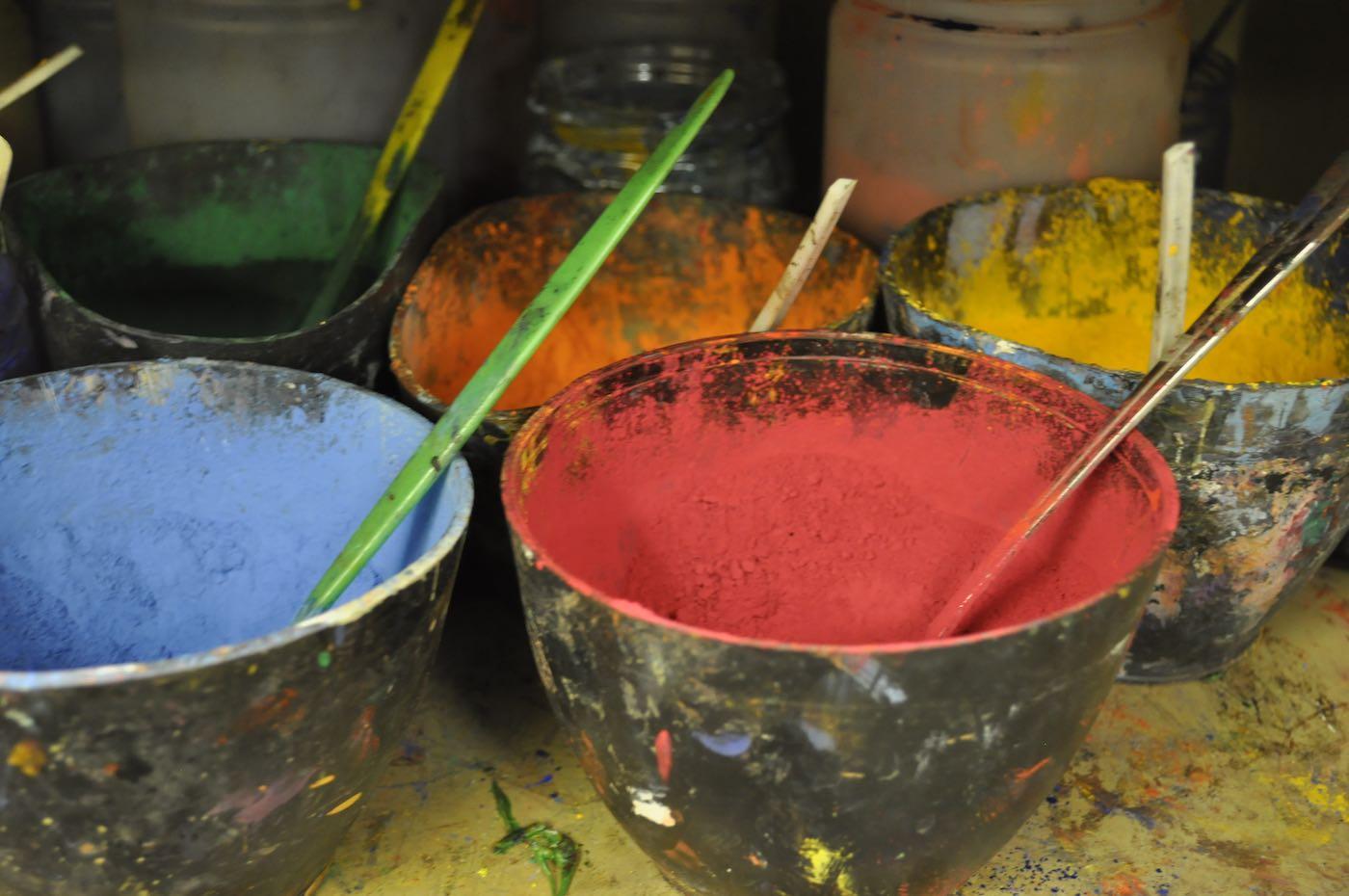 Pigmente zum Malen | Berlin mit Kind