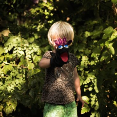 Kind mit Handpuppe | Berlin mit Kind