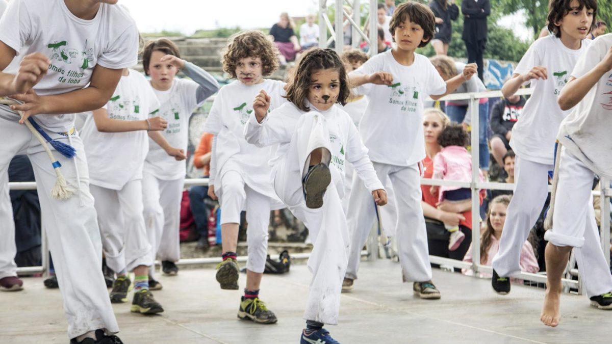 Capoeira auf dem Kinderkarneval der Kulturen | Berlin mit Kind