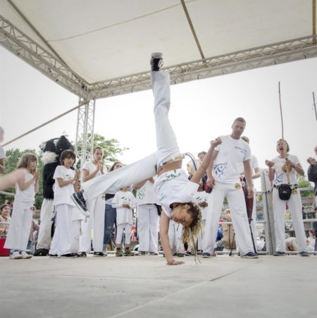 Capoeira beim Kinderkarneval der Kulturen | Berlin mit Kind
