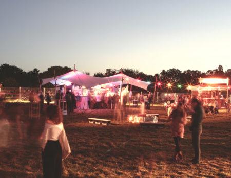 Abendstimmung beim Circus Festival Sommer
