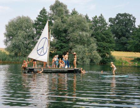 Sommerferien auf dem Floß | Berlin mit Kind