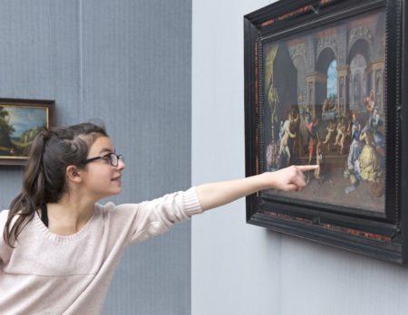 Auf Entdeckungstour in der Gemäldegalerie   Berlin mit Kind