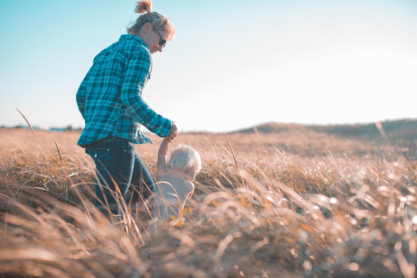 Eltern Danke sagen am Muttertag und Vatertag – Zeit als Familie verbringen // HIMBEER