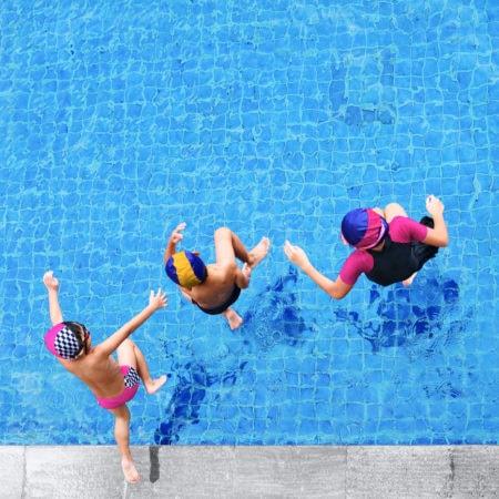 Ferienschwimmkurse der Berliner Bäder-Betriebe // HIMBEER
