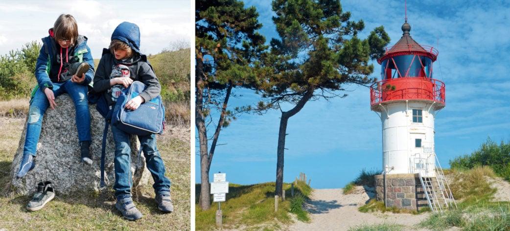 Leuchtturm und Wanderung mit Kindern auf Hiddensee   München mit Kind