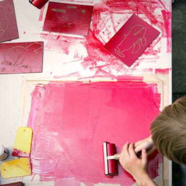 Drucken, Werkeln, Mitmachen bei 48 Stunden Neukölln | Berlin mit Kind