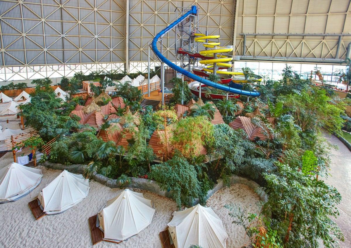 Spaßbad in Brandenburg: Ausflug am Kindergeburtstag Tropicals Islands // HIMBEER