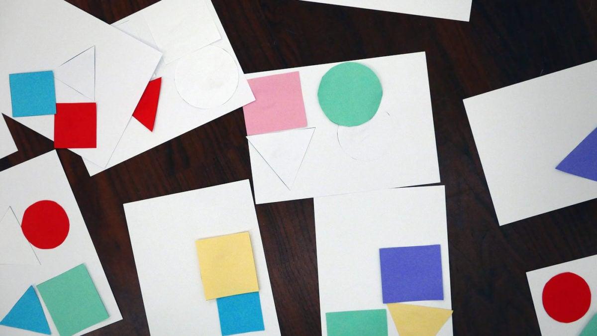 Geometrische Formen im Museum für Architekturzeichnung // HIMBEER