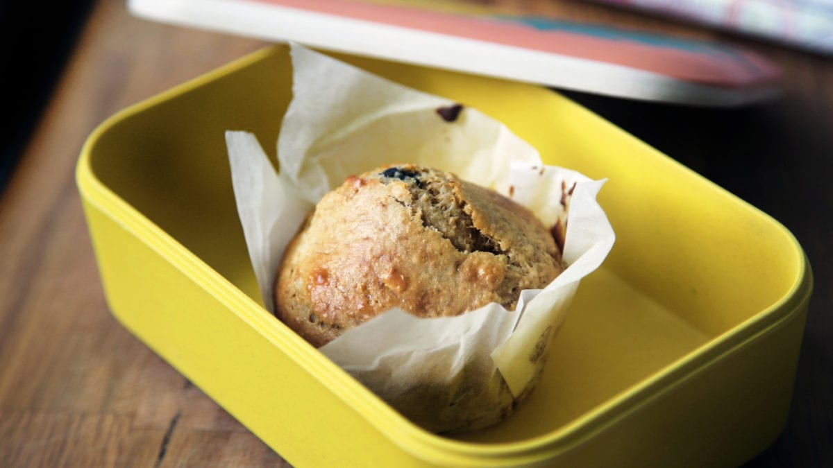 Muffin Ideen fuer die Brotbox