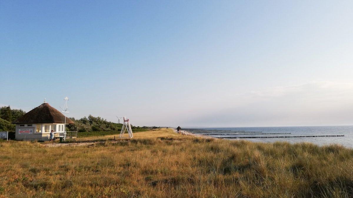 Kuestenblick Urlaub an der Ostsee