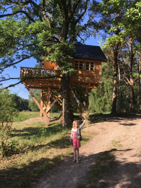 Uebernachten im Baumhaus auf Gut Gollin // HIMBEER