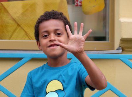 Fünf Finger // HIMBEER