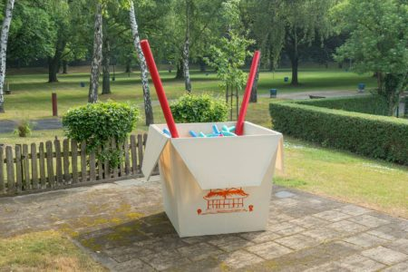 Nudel-Box im Sommerbad Humboldthain // HIMBEER
