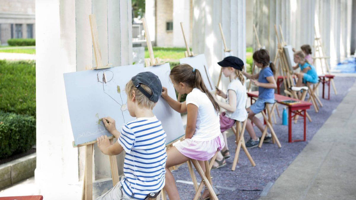 Sommerferienkurse Staatliche Museen zu Berlin // HIMBEER