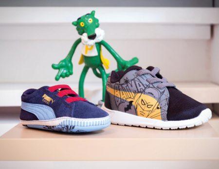 Schuhe und ein grüner Puma // HIMBEER