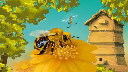 Das Bienenleben im Forschermagazin
