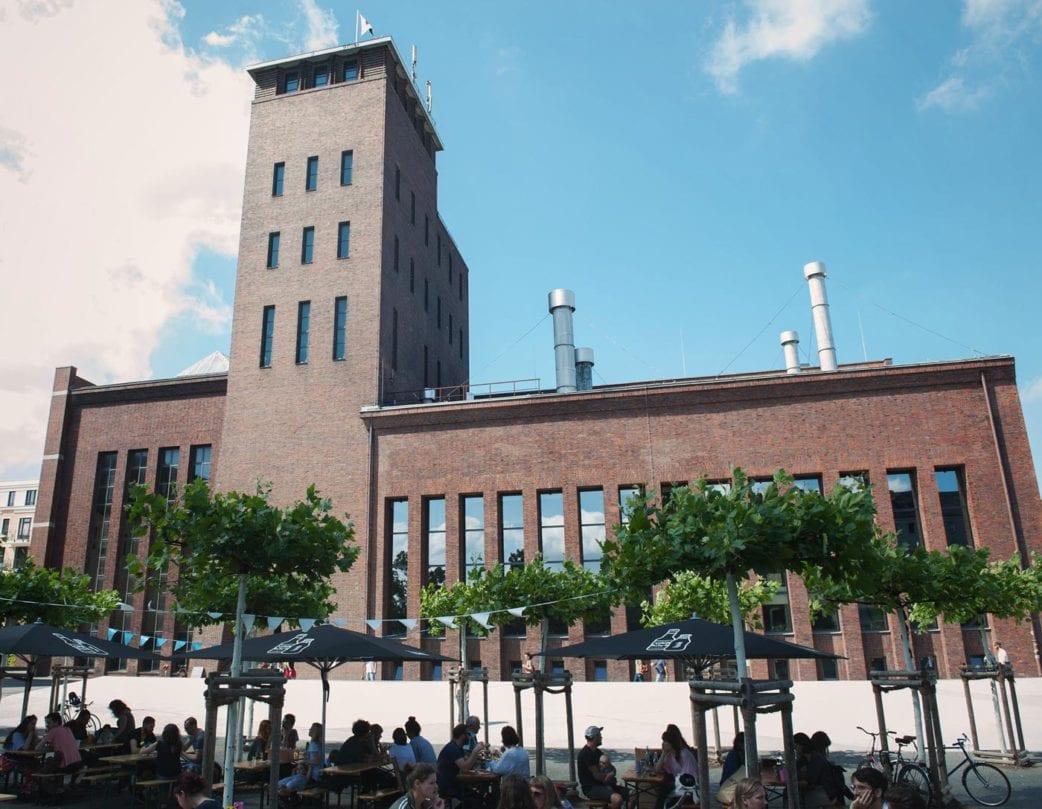 KINDL Biergarten Berlin // HIMBEER