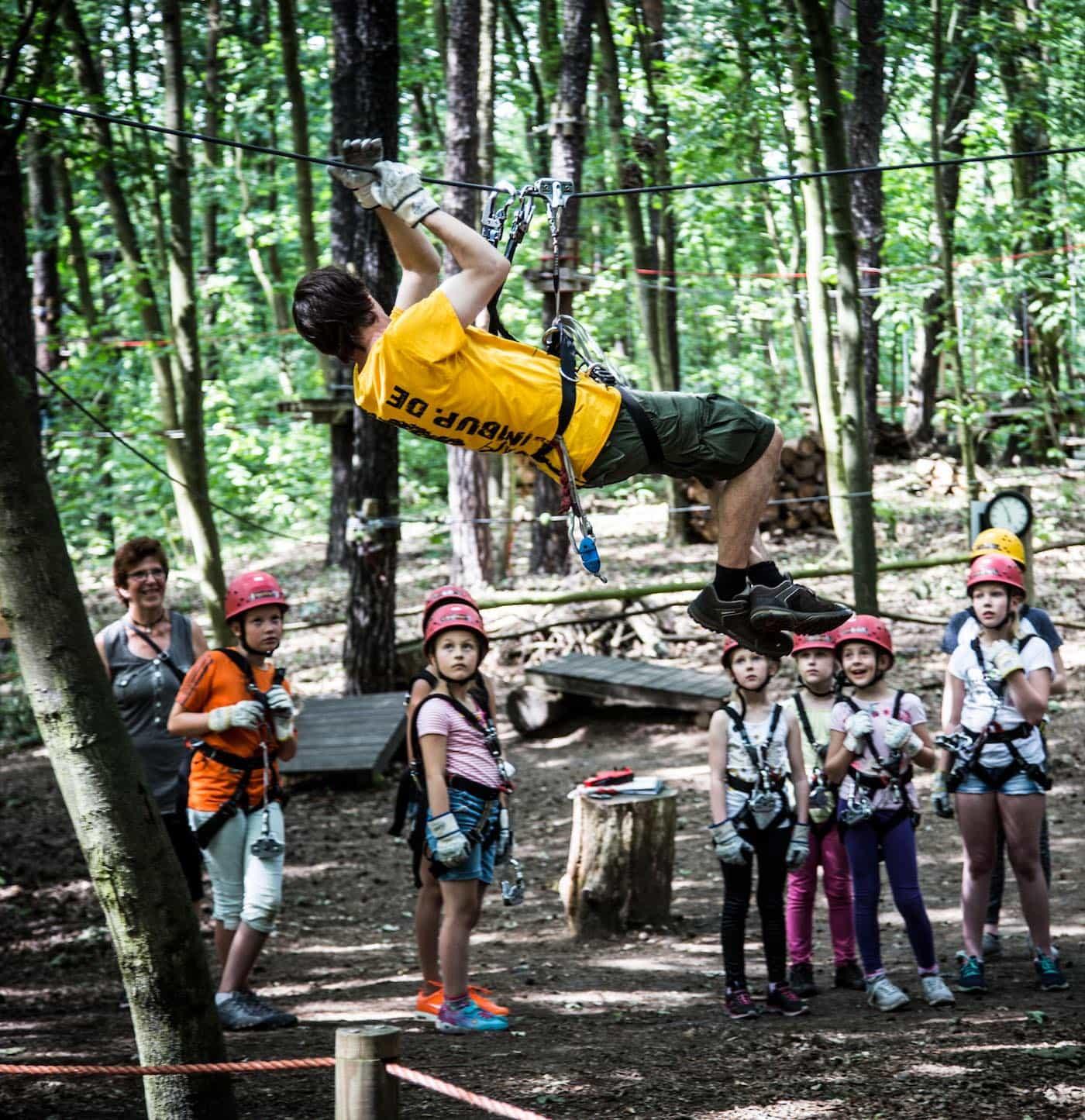 Kindergeburtstag im Kletterwald // HIMBEER