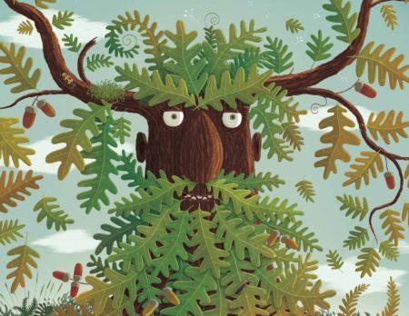 Baum-Illustration von Piotr Socha // HIMBEER