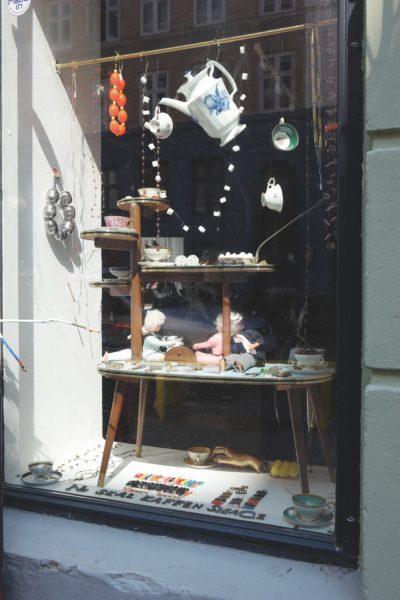 Schaufenster in Kopenhagen