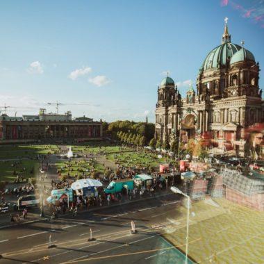 Berliner Dom am Lustgarten während der Langen Nacht der Museen // HIMBEER