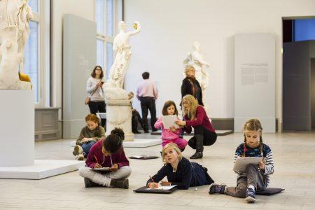 Herbstferienkurse für Kinder Staatliche Museen zu Berlin / Valerie Schmidt // HIMBEER