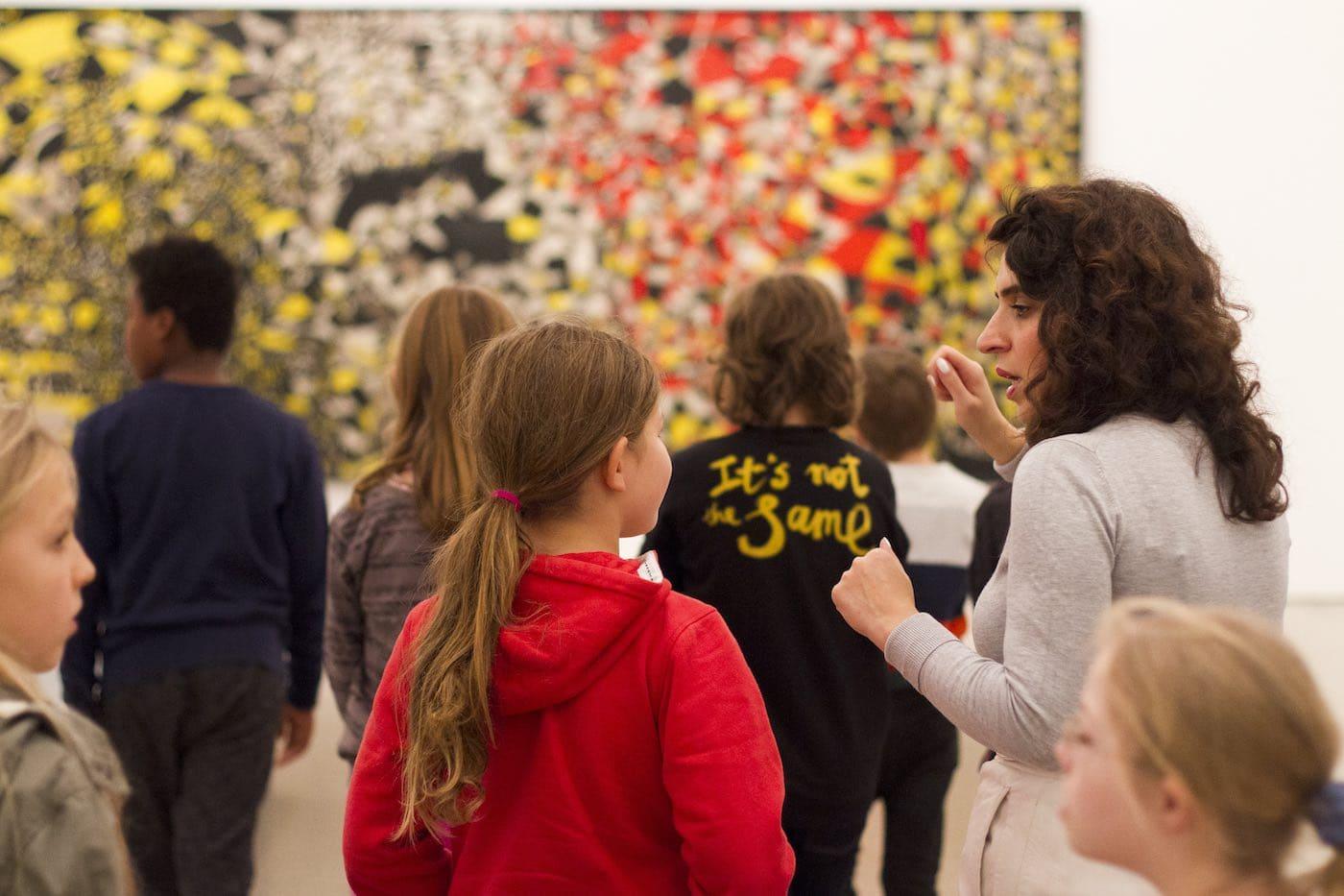 Kunstvermittlung in Berlin mit Kind // HIMBEER