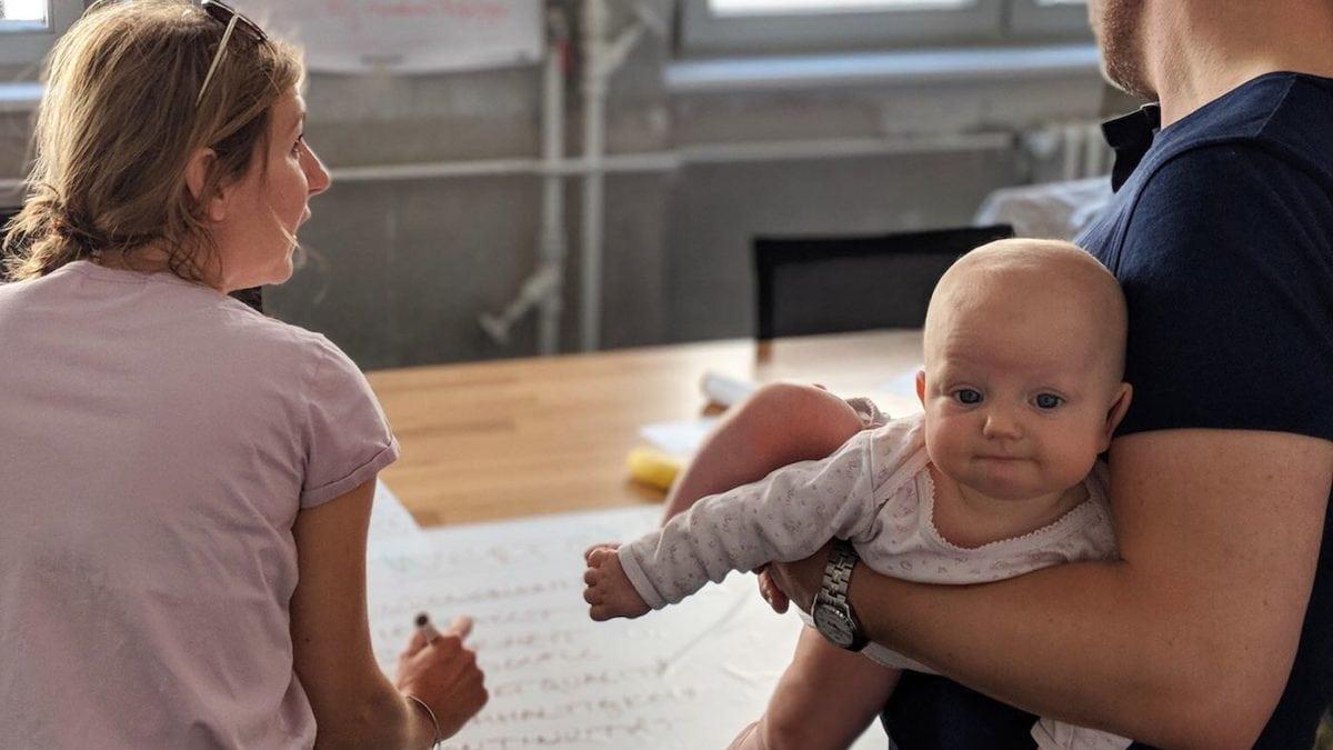 In Berlin mit Kind ein Unternehmen gründen beim Google Campus for Parents // HIMBEER