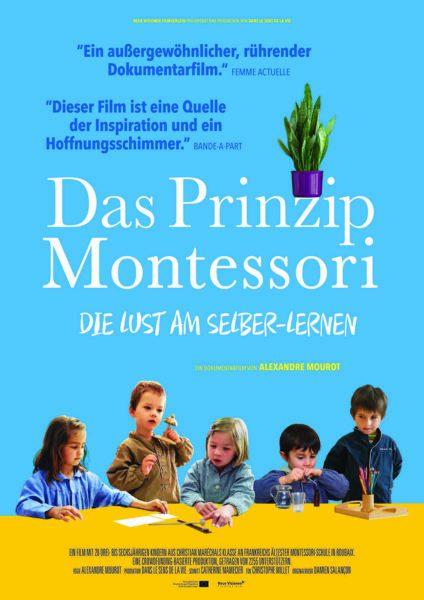 """Filmplakat """"Das Prinzip Montessori"""" // HIMBEER"""