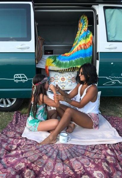 campet mutter tochter ferien // HIMBEER