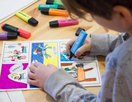 In Berlin mit Kind eine Kunstschule finden // HIMBEER