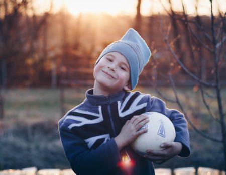 In Berlin mit Kind Fussball spielen // HIMBEER