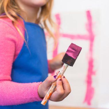 In Berlin mit Kind malen und zeichnen // HIMBEER